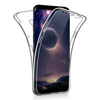 SDTEK Case for Samsung Galaxy S8+ Plus 360 Full Cover Silicone Front + Back