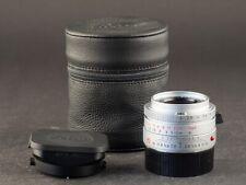 Leica M 35mm 2.0 ASPH Summicron 11882 silber 6bit FOTO-GÖRLITZ Ankauf+Verkauf