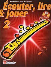 Ecouter lire & Jouer 2 Flûte Traversiere (jean Castelain) | de Haske Publicati