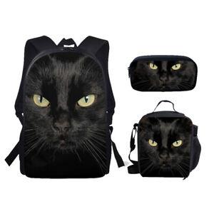 Fashion Animals 3 Piece Set School Bag Backpack Pencil Bag for Teenage Girls