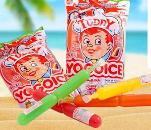 YOGOICE Wassereis MIX FRUCHT Eis Himbeere Mango Ananas Erdbeere 45ML Glutenfrei