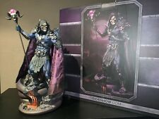 Masters of the universe skeletor statue sideshow Motu he-man