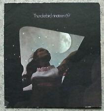 FORD THUNDERBIRD 1969 Car LF Sales Brochure USA #5031 8/68 Hardtop LANDAU