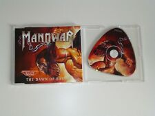Manowar The Dawn Of Battle Special Limited Shape Edition CD Single 3 Track
