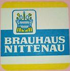 alter Bierdeckel Brauhaus NITTENAU 🍺 N-4