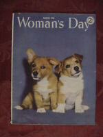 WOMAN's DAY Magazine March 1945 Louis Adamic Sophie Kerr Murray Hoyt