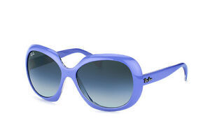 Ray Ban RB4208 6103/8G JACKIE OHH Top Wisteria Transparent & Grey Sunglasses