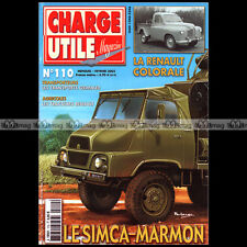 CHARGE UTILE N°110 SIMCA MARMON BERLIET PR RENAULT COLORALE CIRQUE JEAN RICHARD