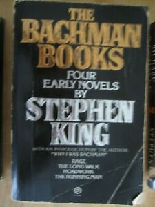 1984 Richard Bachman (Stephen King) THE BACHMAN BOOKS Softcover - 4 Early Novels