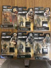 HEROES Mega Construx Black Series Call of Duty Lot 6 Pack