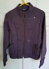 Designer DKNY Kids Girl's Fitted Cotton Purple Blazer Jacket Age 8 yrs £79