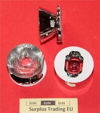 Ledil CA10540_ROCKET-O-C LED Optic Plated, Taped Base, Oval Beam (Pk of 2)