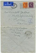 GB 1947 to BERLIN NW7 AIRMAIL 5d RATE FRANKING