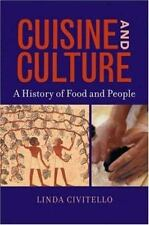 Cuisine and Culture: A History of Food & People-ExLibrary