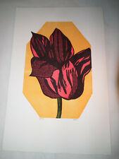 Tulip by Leonard Baskin  Flower Proof