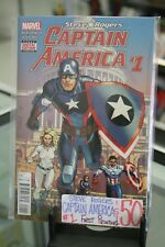 MARVEL COMICS STEVE ROGERS: CAPTAIN AMERICA #1 1ST PRINTING