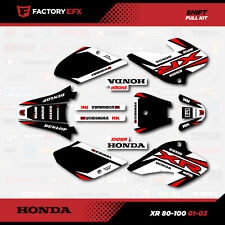 1985-2000 XR 100 80 GRAPHICS XR100 XR80 DECO DECAL 1999 1998 1997 1996 1995 1994