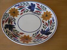 """Great Antique Société Céramique Maestricht Holland Dutch Plate  9 1/8""""   As Is"""