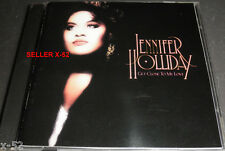 JENNIFER HOLLIDAY cd GET CLOSE to MY LOVE rare album HEART on the LINE