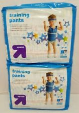 2x Target Up & Up Training Pants Boys 2T-3T 34 lbs Dinosaurs Rockets Pull Ups