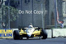 Rene Arnoux Renault RE30B Detroit Grand Prix 1982 Photograph