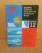 MapTech Digital ChartKit Region 12 SoCal: Point Arena to the Mexican Border