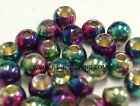 """TUNGSTEN FLY TYING BEADS RAINBOW 4.5 MM 3/16"""" 100 COUNT"""