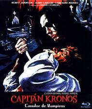 CAPITAN KRONOS CAZADOR DE VAMPIROS (BLU-RAY DISC BD PRECINTADO) HAMMER FILMS