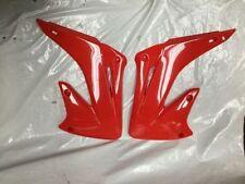 Carrocerías y bastidores Polisport color principal rojo para motos
