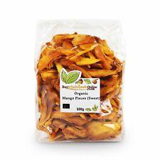 Organic Mango Pieces (Sweet) 500g | Free UK Mainland P&P