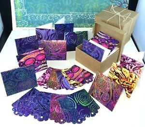 Rainbow Mini Cards 2 Boxes, Perfect small gift, Tiny Cards & Gift Tags
