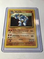 MACHOKE - Base Set - 34/102 - Uncommon - Pokemon Card - Unlimited Edition - NM