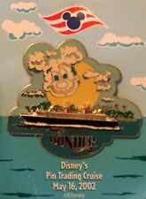 Disney Pin Trading Cruise -  DCL Wonder May 16 2002 (LE 2000)