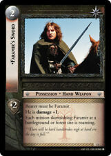 LOTR: Faramir's Sword (O) [Moderately Played] Black Rider Lord of the Rings TCG