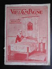 """Revue """"Vie à la campagne N°90 - Meubles Languedoc & Roussillon"""" 15 décembre 1934"""
