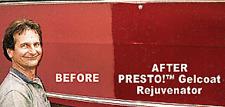 Gelcoat Rejuvenator RESTORE SHINE Fiberglass Renew Boat
