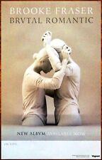 BROOKE FRASER Brutal Romantic 2014 Ltd Ed New RARE Poster +FREE Indie Pop Poster