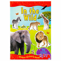 Amazing World In The Wild Sticker Book - Children's activity for kids aged 3+
