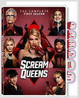 Scream Queens: The Complete First Season New DVD! Ships Fast!