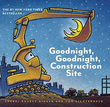 Goodnight, Goodnight, Construction Site by Sherri Duskey Rinke (Board book, 2017)