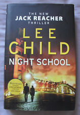 Night School by Lee Child (2016, Hardback, Jack Reacher, Thriller, Mystery)