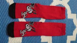 socken Snoopy Peanuts rot schwarz 37 - 41