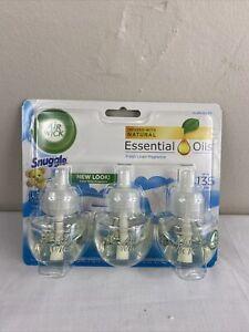 Air Wick plug in Scented Oil 3 Refills, Fresh Linen, (3x0.67oz), Same familia...