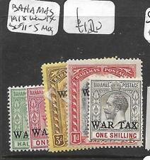 BAHAMAS (PP1712B) WAR TAX SG 91-5  MOG