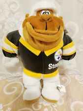 """Pittsburgh Steelers 2001 Gorilla 13"""" in GUC with Hangtag by Play by Play !"""