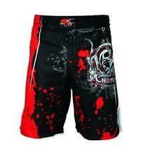 Mma Fight Shorts Kick Boxing Grappling shorts Training pants No Mercy Black/Red