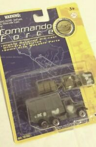 "Motormax Commando Force 3"" UNITED STATES TROUP TRUCK AND JEEP PLATOON CAR NEW!!!"