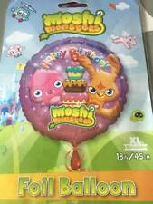 Moshi Monster Round Happy Birthday Foil Balloon