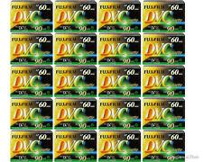 20 Pack Fujifilm DVM-60 60 Minute Mini DV Recording Cassette Tape