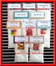 EASY BAKE OVEN Mixes 10 Homemade Cake & Frosting Mixes / 60 Mini Ultimate Cupcak